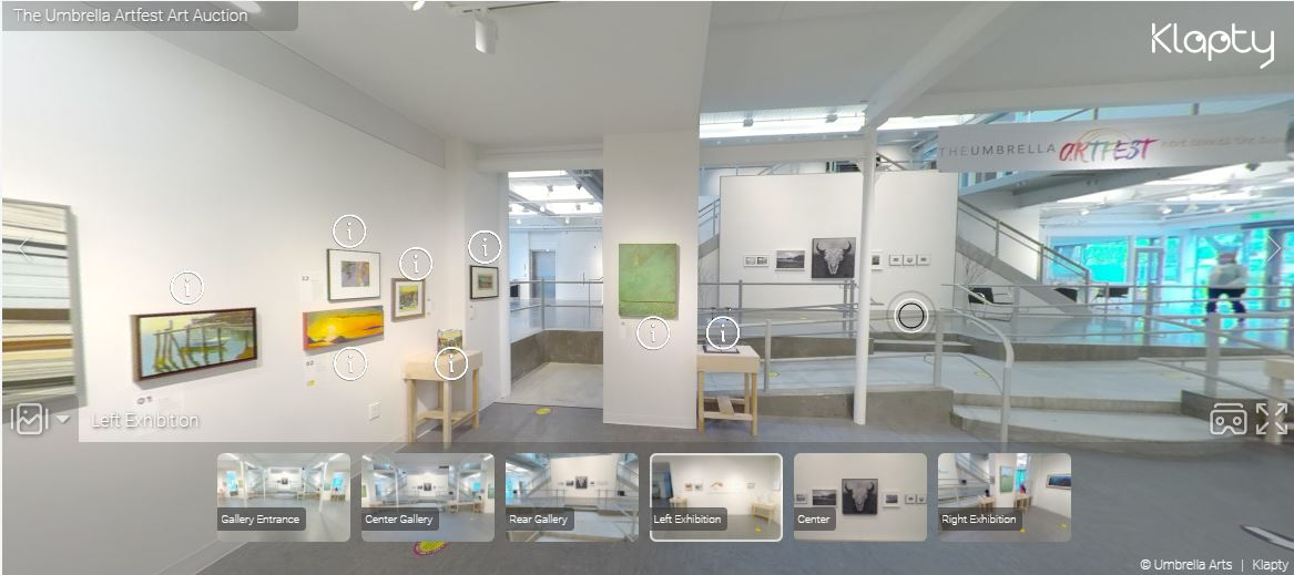 Artfest Art Auction VR Tour