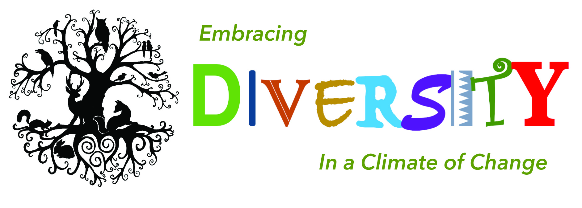 Earth Day 2019 - Diversity Theme Logo