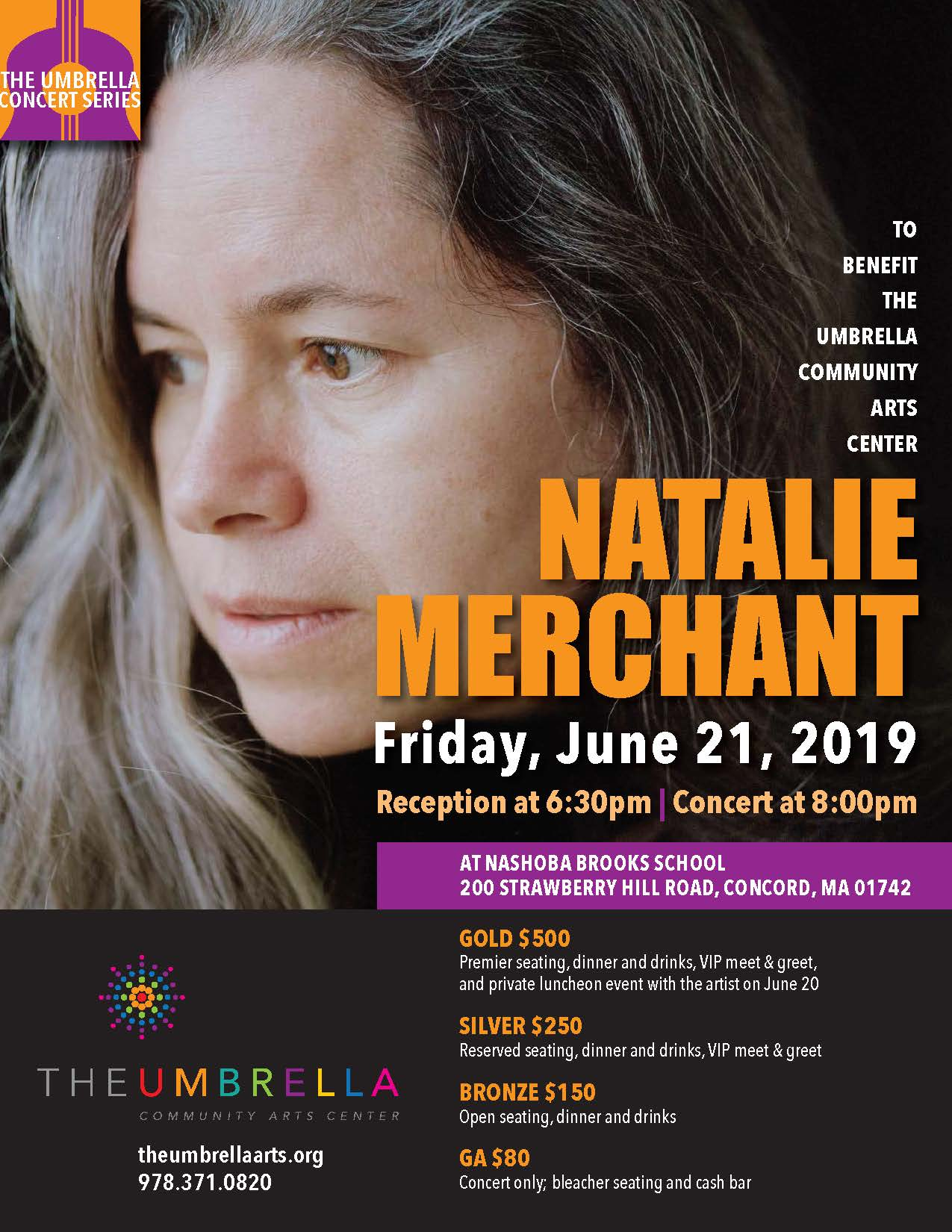 Natalie Merchant Concert at The Umbrella