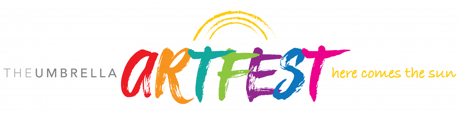 The Umbrella Spring Artfest Logo