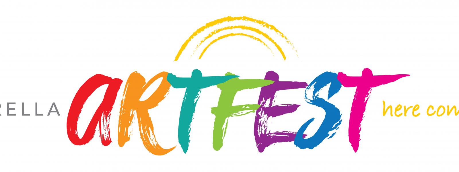 The Umbrella Spring Artfest Logo