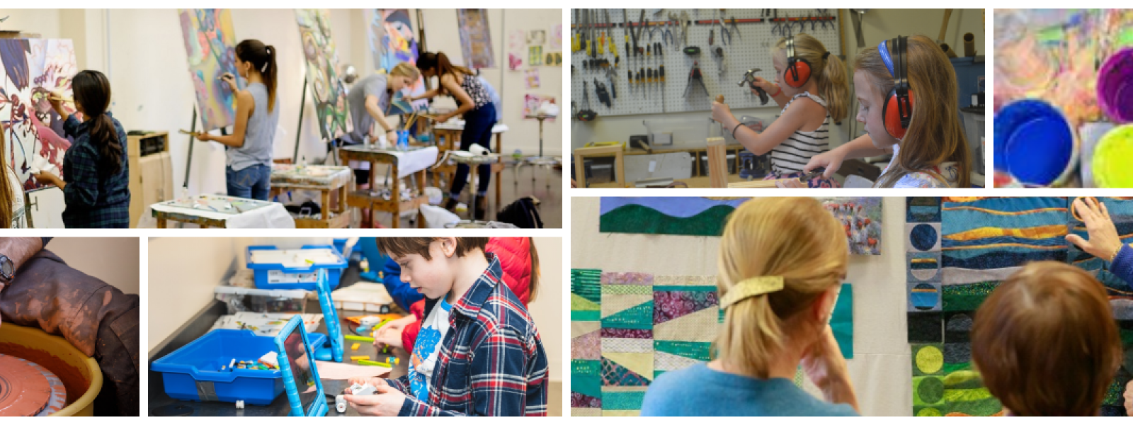 Arts Education Classes for Adults, Teens and Youth -- All Levels of Experience