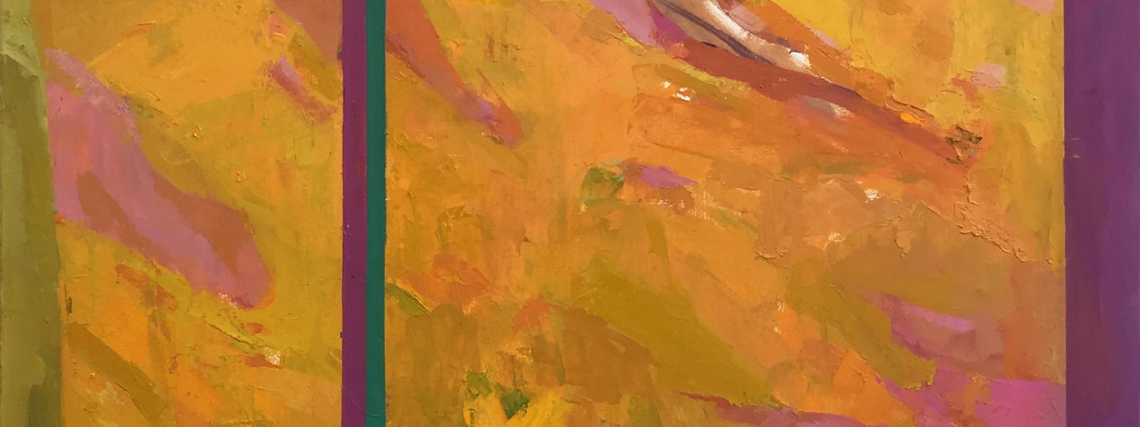 "Nicholas Anthony Mancini - Green Porch - Oil on Canvas 46""x40"" 2018"