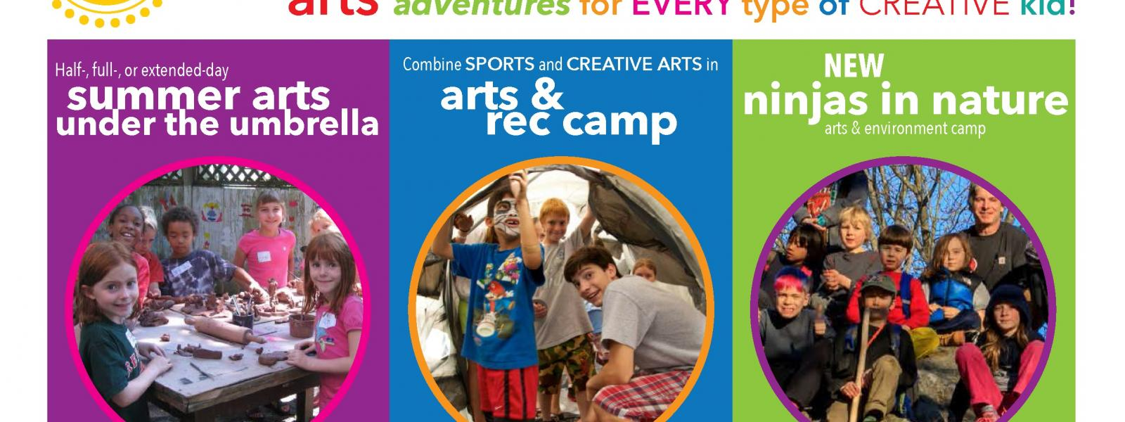 Summer Arts Camps Options in Concord