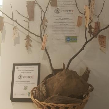 ArtWeek Poetry Challenge Tree