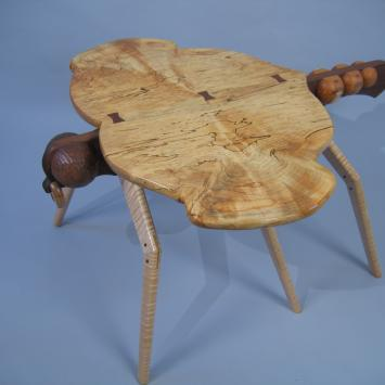 Wooden dragonfly
