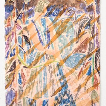 Elizabeth King - Feeling Redundant colorful painting