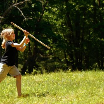 Ninjas in Nature Camp by Pam Ellertson