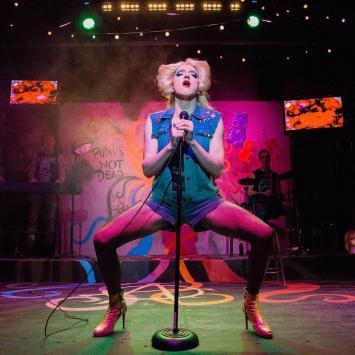Kirk Vanda as Hedwig. Photo by Briana Gately