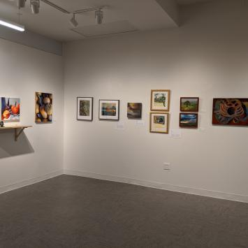 Aperture Studio Artist Group Show 2020 Gallery Shot