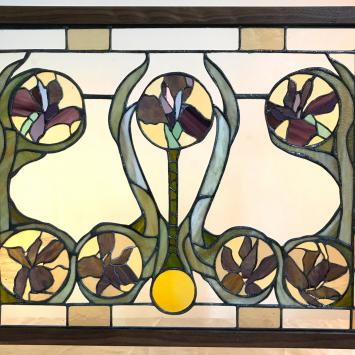 Stained Glass by Kathleen Mayer
