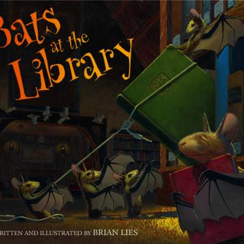 Brian Lies - Bats at the Library Cover