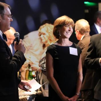 Liz Gross Thanked on Opening Night of 42nd Street by Greg Ciccarelli