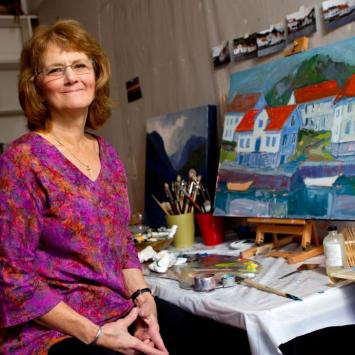 lois andersen painting instructor