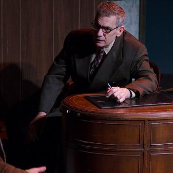 A View from the Bridge Scene - Photo by Gillian Gordon Photography
