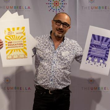 Stewart Ikeda on ArtsMatter Day