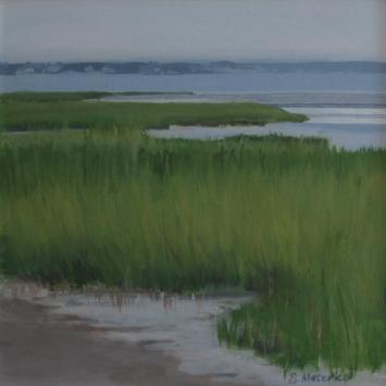 Susanne Meterko Low Tide Painting