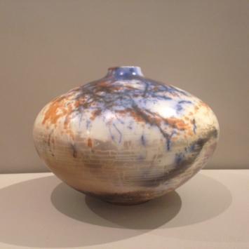 """Suzanne Hill, """"Copper Flare"""" (11.5"""" x 8.5"""")"""