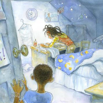 Nicole Tadgell - Astronaut Annie Interior Page