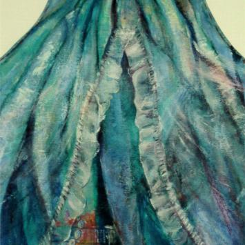 The Pearl Necklace, Oil on Canvas by Ann Emerson, 2008, 34 x 24