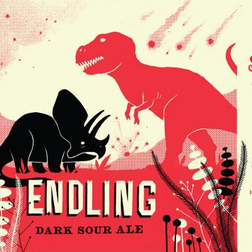 Idlehands Endling Label - Artwork by James Weinberg