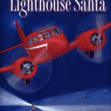 Julia Miner - Lighthouse Santa Cover