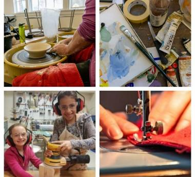 Arts Classes for All Ages in a Variety of Media