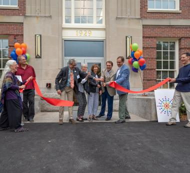 Umbrella Arts Center Sept. 14 2019 Grand Re-opening Ceremony by Marion Stanton